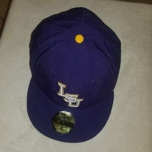 LSU New Era Size 8 Cap